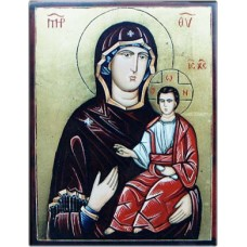 The Virgin Eleousa with Child