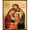 Hand-Painted Icon of The Holy Family