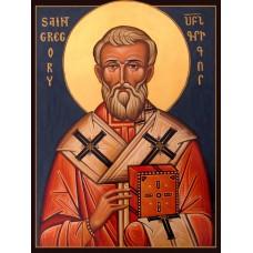 Hand-Painted Icon of Saint Gregory the Illuminator