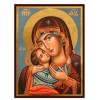 Hand-Painted Icon of Mother of God