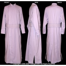 Greek-Style Under-Cassock (Double-Breasted with Embroidered Belt)
