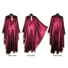 Crepe-Satin Choir Robe