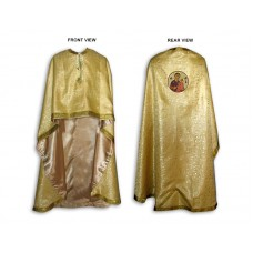 Silk-Brocade Greek-Style Priestly Phelonion