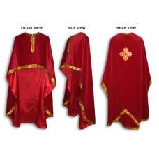 Velvet Greek-Style Priestly Phelonion