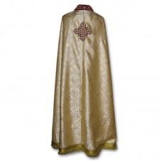 Metallic-Brocade Coptic-Style Priestly Phelonion (Phanolion)