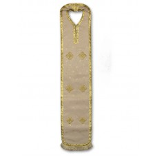 Silk-Brocade Armenian-Style Priestly Epitrachelion (Poroorar)