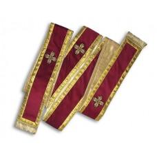 Velvet Subdiaconate Orarion