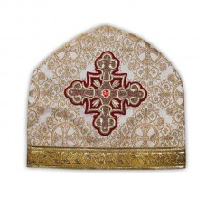 Metallic-Brocade Coptic-Style Priestly Miter