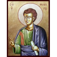 Hand-Painted Icon of Saint Philip The Apostle
