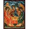 Hand-Painted Icon of Blessed Holy Trinity