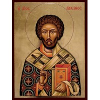 Hand-Painted Icon of Saint Lucian the Sacred Martyr