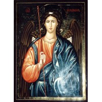 Hand-Painted Icon of Archangel Michael