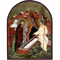 Hand-Painted Icon of Sunday of The Holy Myrrhbearers