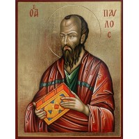Hand-Painted Icon of Saint Paul the Apostle