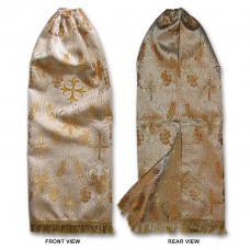 Metallic-Brocade Veil for Crozier/Posoh (Sulok)