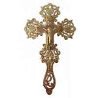 Brass Blessing Cross