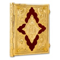Gold-Plated Gospel Book Cover