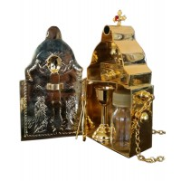 Communion Hospital Kit with Gold-Plated Utensils