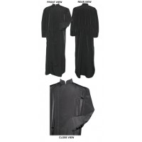 Greek-Style Under-Cassock (Double-Breasted with Elastic Cord)