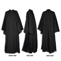 Greek-Style Outer Cassock with Broad Sleeves (Exorasson)