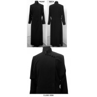 Russian-Style Under-Cassock with Color Accents and Modifications in Front Closure