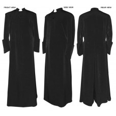 Anglican-Style Double-Breasted Cassock
