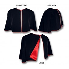 Short Shoulder Cape (Roman-Style Capelet)