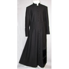 Vatican-Style Cassock with Knotted Fascia