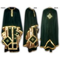 Velvet Set of Greek-Style Priestly Vestments