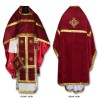 Velvet Set of Russian-Style Priestly Vestments