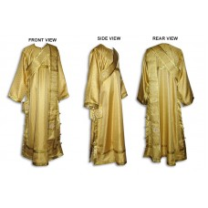 Silk-Brocade Set of Deaconate Vestments (with Double-Length Orarion)