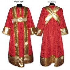 Silk-Brocade Set of Subdeaconate Vestments