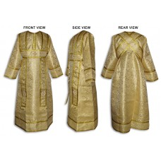 Metallic-Brocade Set of Subdeaconate Vestments