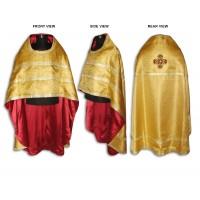Silk-Brocade Russian-Style Priestly Phelonion