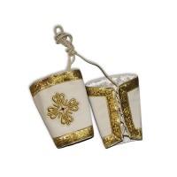 Velvet Liturgical Set of Cuffs (Epimanikia)