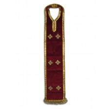 Velvet Armenian-Style Priestly Epitrachelion (Poroorar)