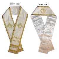 Velvet Small Omophorion for Bishop