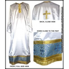 Priestly Sticharion with Metallic-Brocade Decorative Band