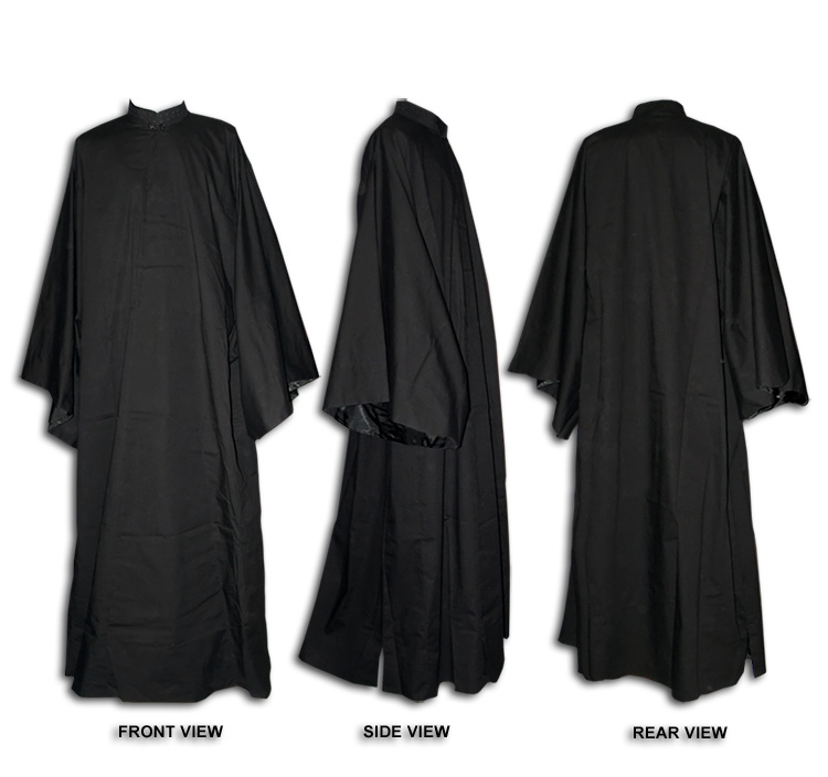 Greek Style Outer Cassock With Broad Sleeves Exorasson